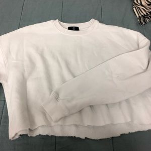 Misguided Cropped Crewneck